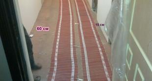 теплый пол AEG в коридоре и прихожей