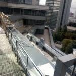 Обогрев открытой площадки в гостинице Marriott