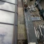 Обогрев открытой площадки на крыше гостиницы