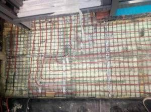 Установка греющего кабеля devi открытой площадки