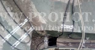 Обогрев ендовы, желоба и водосточной трубы