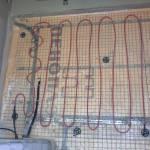 Греющий кабель на утеплителе