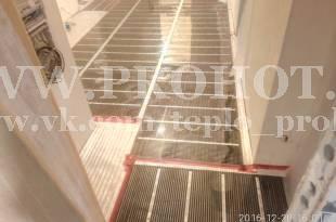 Инфракрасная пленка в коридоре