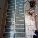 Инфракрасный пол под ламинат в Новокосино