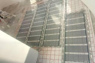 Уложен инфракрасный пол на балконе под ламинат