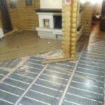 теплый пол под ламинат в доме